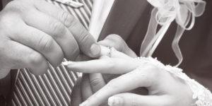 ワードプレス ブログ Green Ring 指輪交換モノクロ
