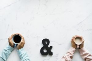 you & me コーヒー