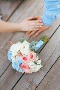 ワードプレス ブログ Green Ring 花束と手