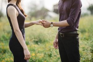 ワードプレス ブログ Green Ring カップル 握手
