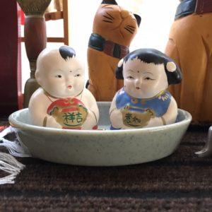 中国人形 ペア