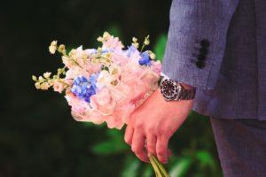 結婚相談所 婚活 ワードプレス ブログ Green Ring 男性 花束