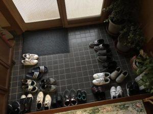 ワードプレス ブログ Green Ring 玄関の靴