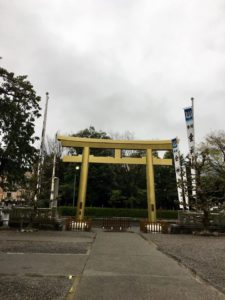 ワードプレス ブログ Green Ring 金神社1